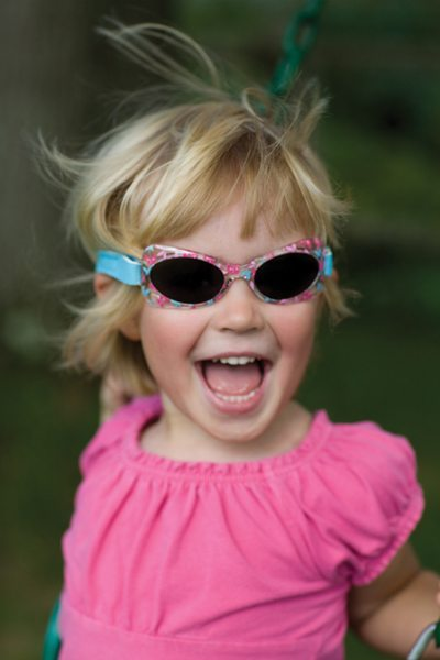 toddler shades in butterflies