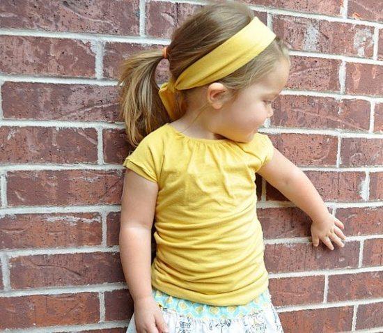 citrus colored kids clothes
