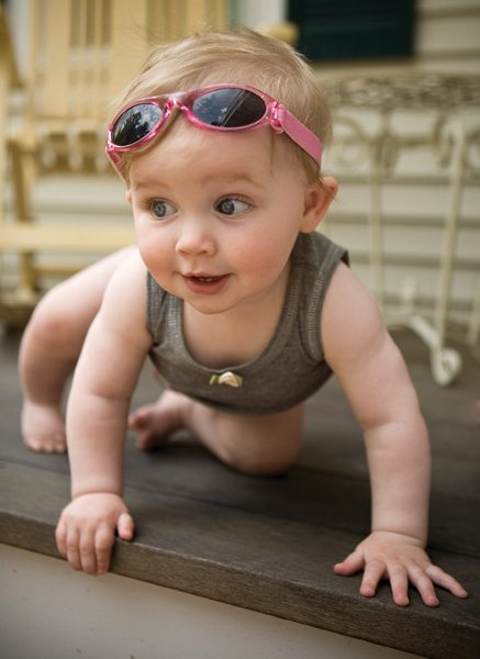 infant shades in pink