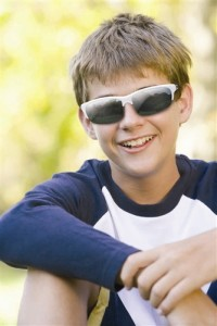 Real Kids Polycarbonate Glasses and Lenses Protect Eyes in Every Situation