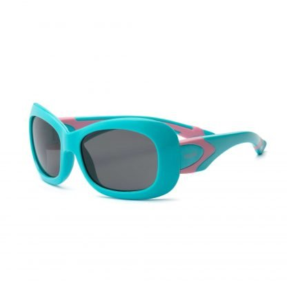 Aqua and Pink Sunglasses