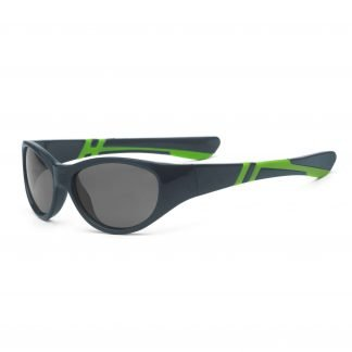 Graphite and Lime Sunglasses