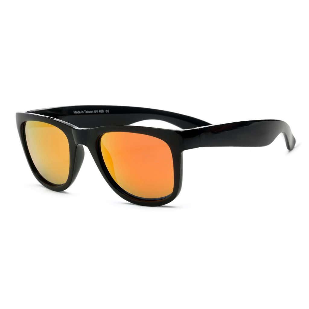 WaveRunner Black with Orange Lenses Sunglasses